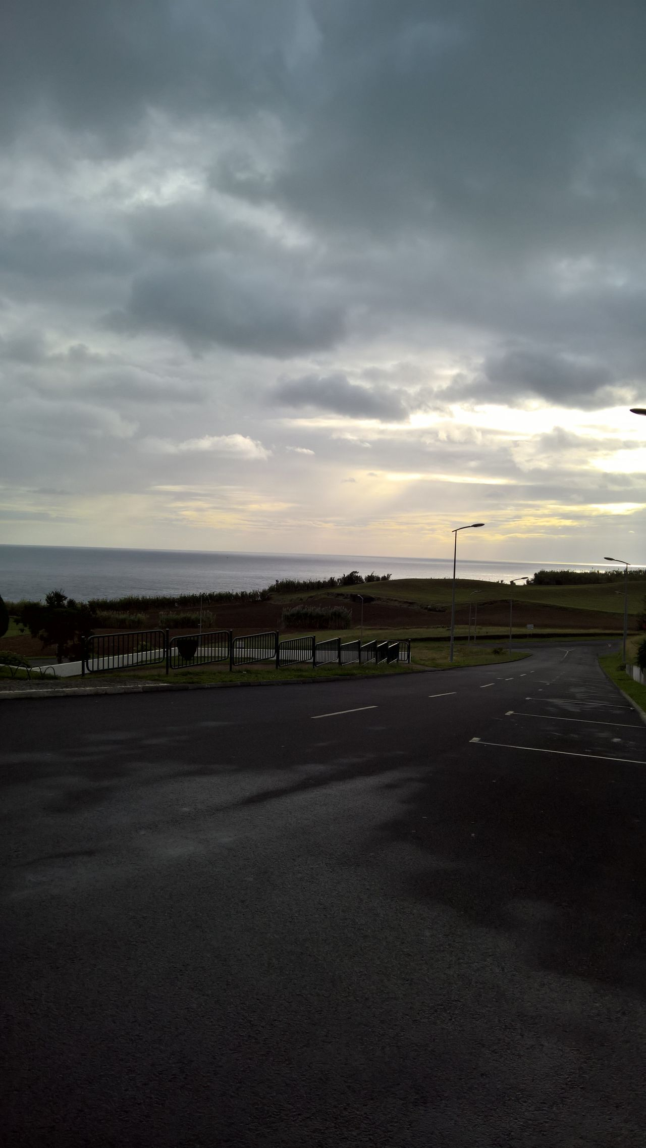 Dramatic Sky Climate Change Cloud - Sky Sky Nature Horizon Over Water Sao Miguel- Azores São Miguel - Açores Azores Beauty In Nature Sea View Nofilter Sky And Clouds Sunrise Sea Portugal Beautiful Travelphotography No People