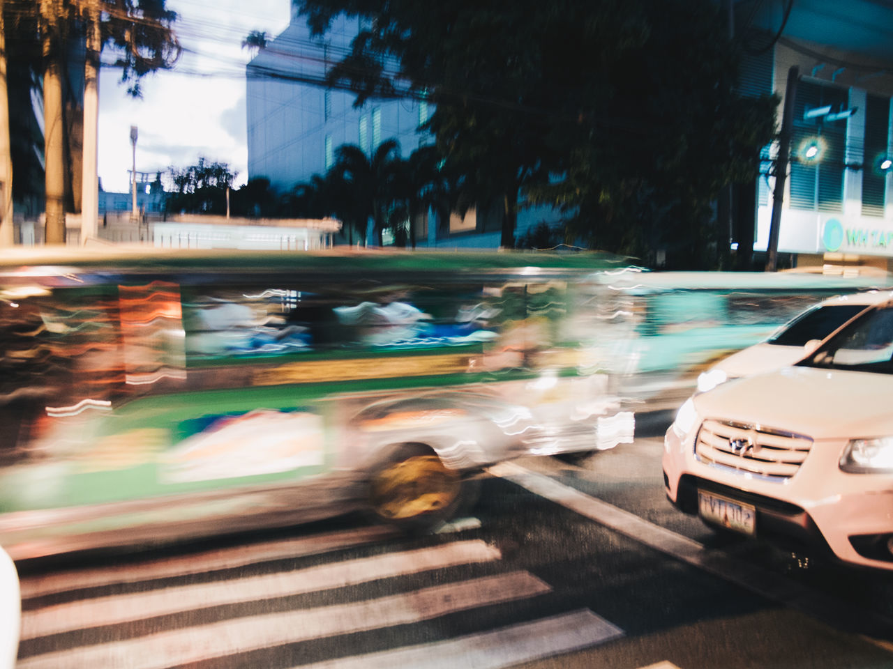 Beep beep Blurred Motion Car Speed City Street Motion City Life Transportation Traffic Night Mode Of Transport Road in Taftavenue, Manila EyeEmNewHere Olympus OLYMPUS PEN E-P3 The Street Photographer - 2017 EyeEm Awards