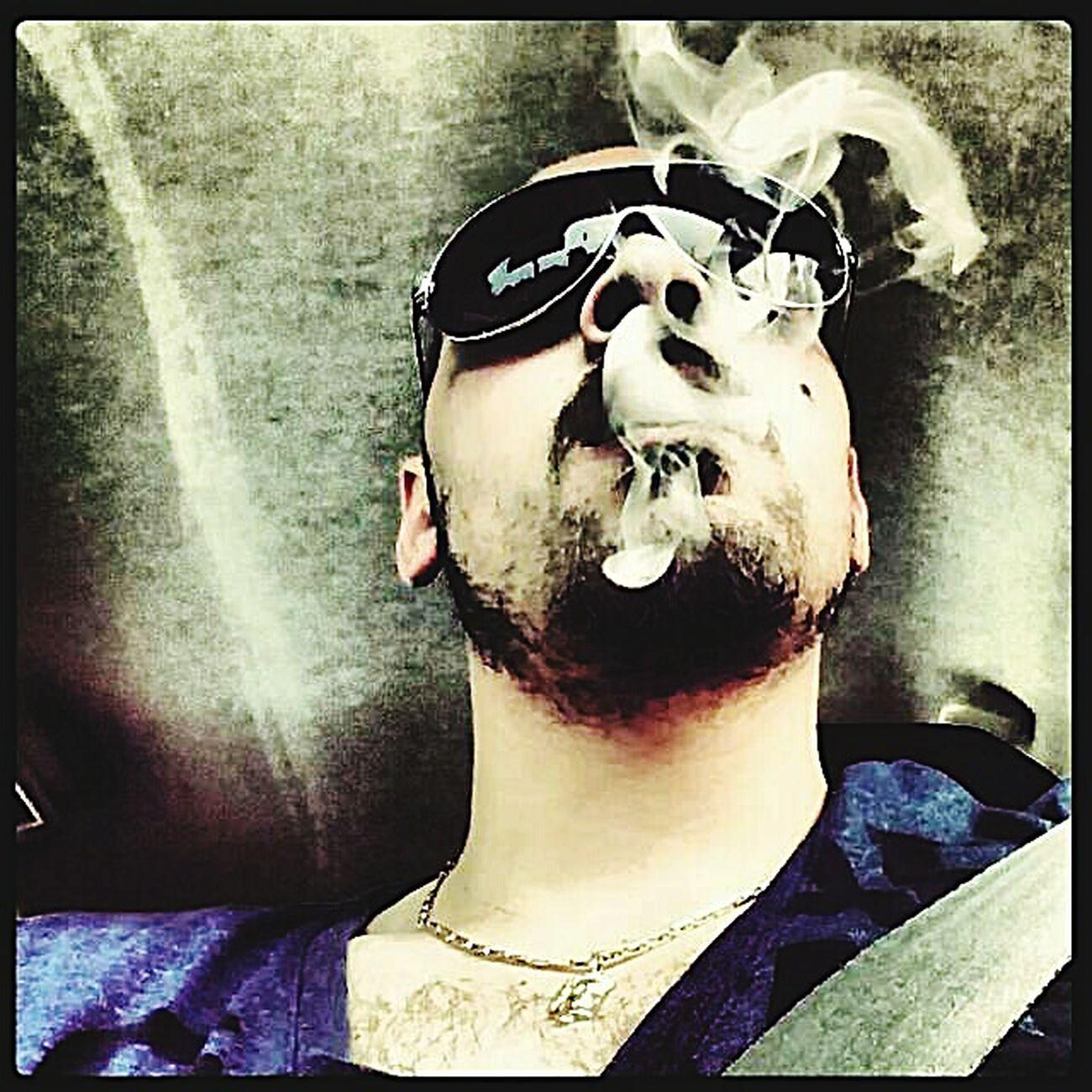 Smoke Selfie Tagsforlikes Mannheim Ludwigshafen Germany Italyman Sunglasses