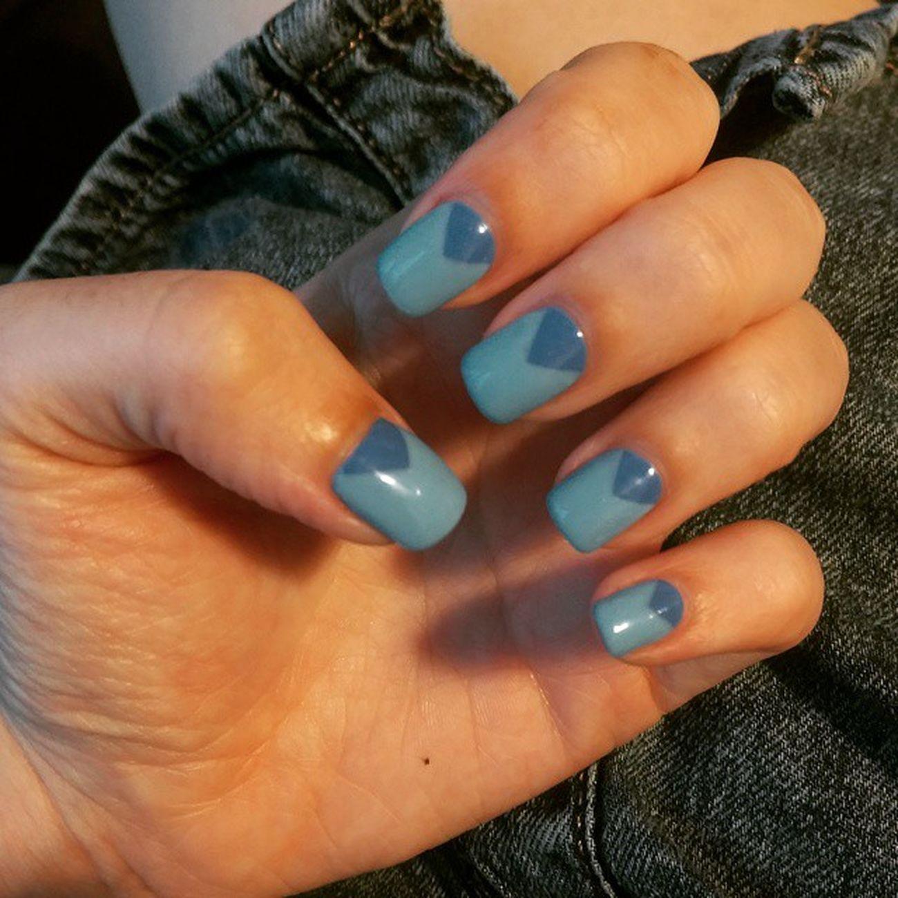 Newnails Feelingblue Manicure Superiornail Causewaybay  Dayoff