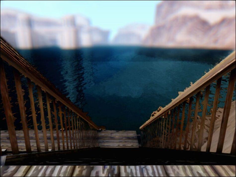 Gtasa Water Bridge Lake Ladder