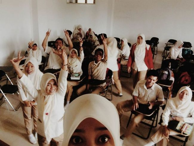 What Does Freedom Mean To You? Freedom for me is when we are took a selfie at class right after study Enjoying Life Hello World Hanging Out