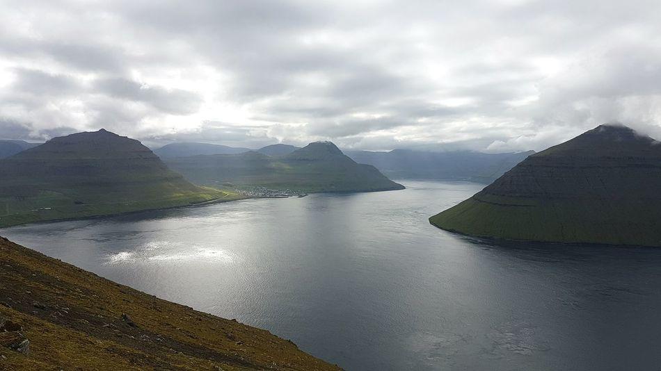 Klaksvik Nature Beautiful Nature Nature Photography Faroe Islands Green Mountains Mountain View Hiking Mountain Samsung Galaxy S7