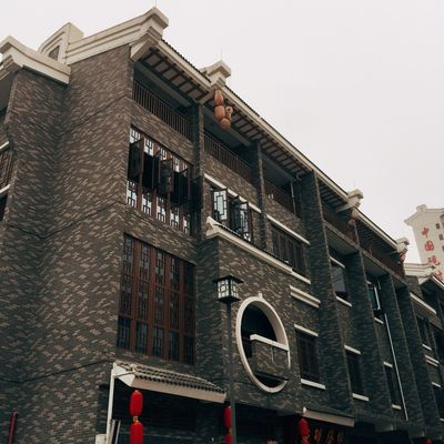 Architecture Low Angle View Day Building Exterior Built Structure Window No People Outdoors Townhouse
