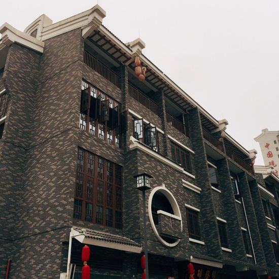 Building Exterior Architecture Built Structure Window No People Low Angle View Outdoors Day Townhouse Sky