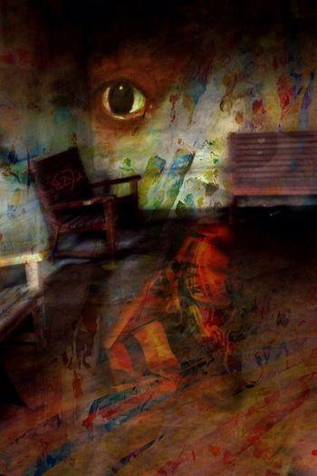 Surrealism Dark Houses My Trademark Eye