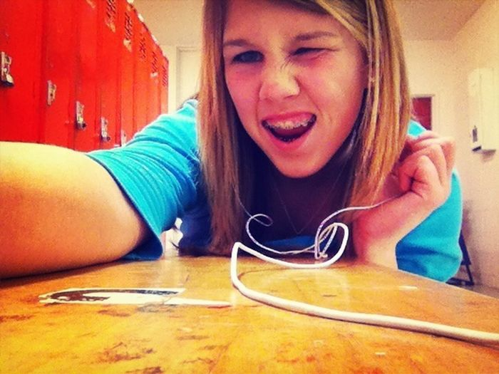 When Your Bestfriend Takes Pictures On Your Phone:D Lol
