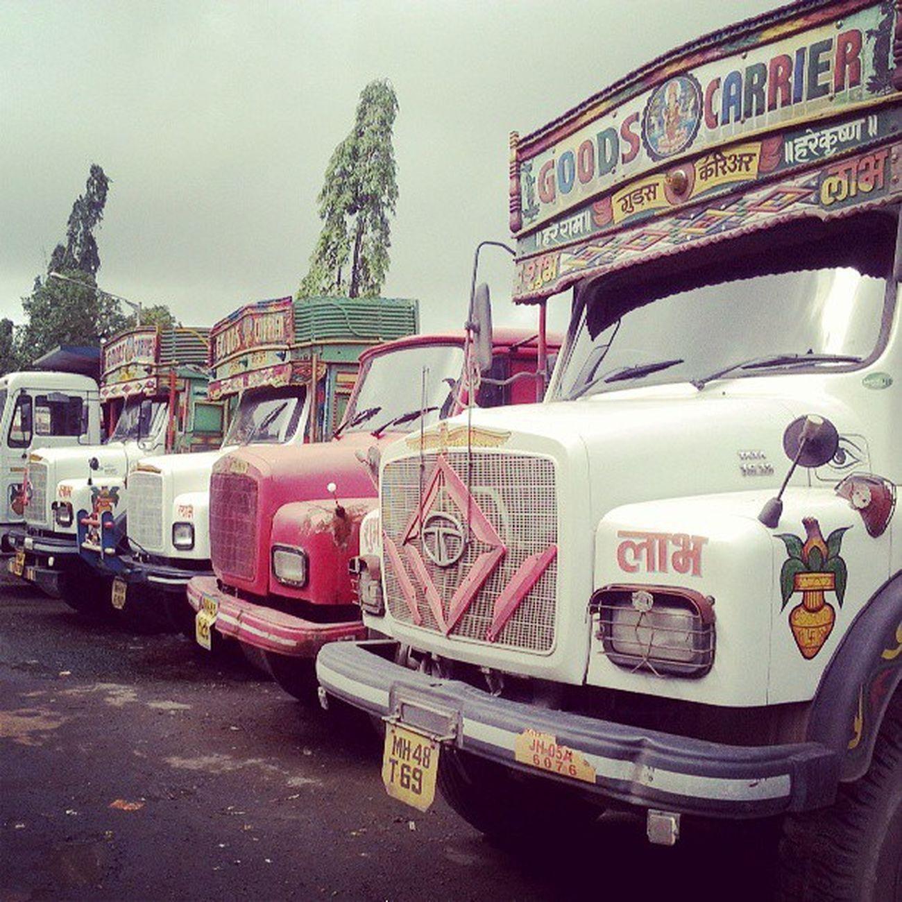 Mumbai Truck Carriers Dailypics Random Followme Followback Like Likeback College Road Parking Loads Instapic Instamood Iphonenography Job Followme