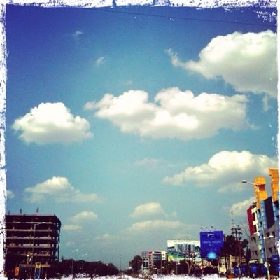 clouds and sky in Indore by Nikkofgold