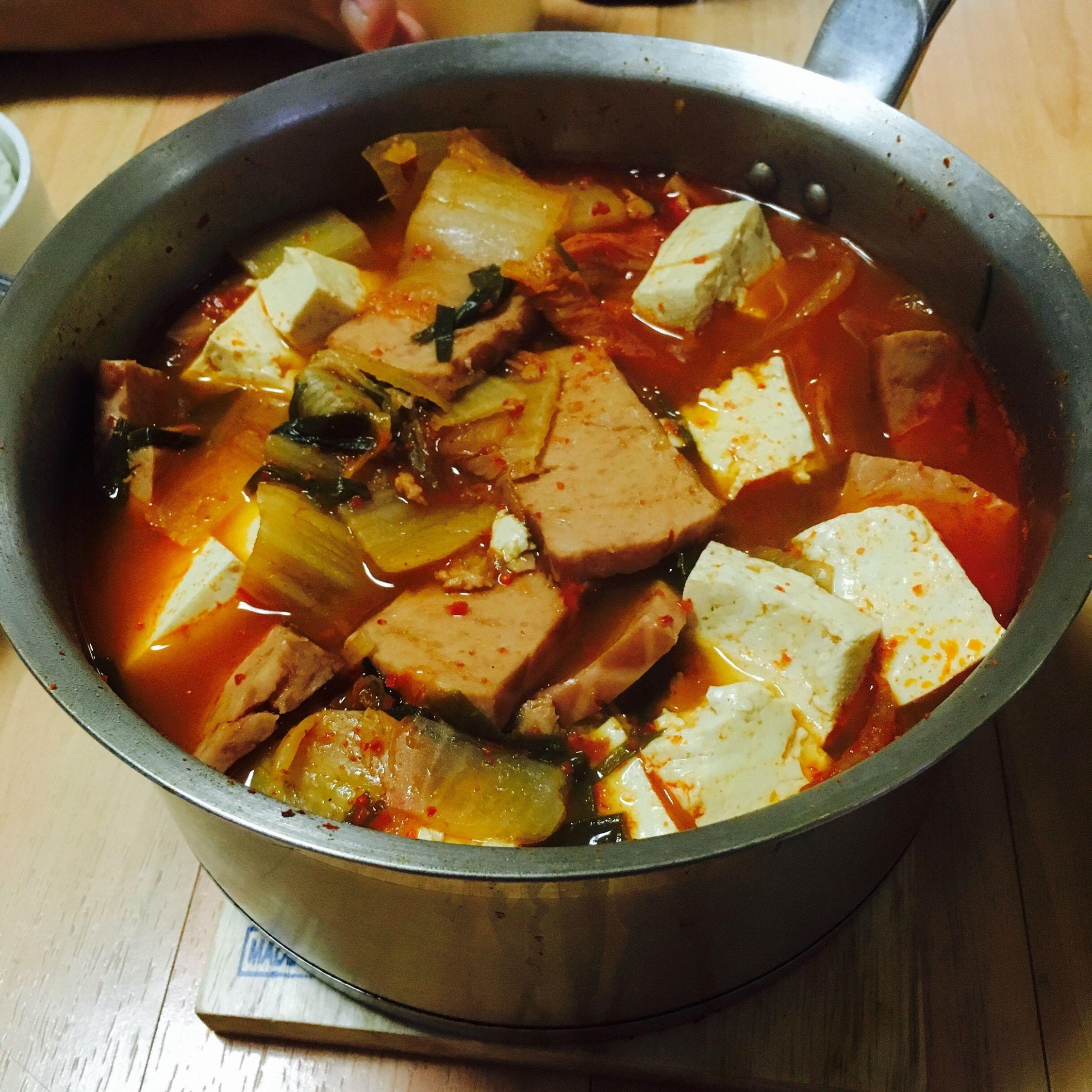 Kimchi Jjigae Kimchi Stew Korean Food