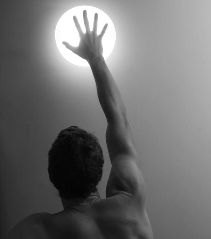 Blackandwhite Black & White Human Body Part One Man Only One Person Human Back Young Adult Light And Shadow Light Up Your Life Light In The Darkness Reaching For The Sun Reachingout Shoulder EyeEmNewHere
