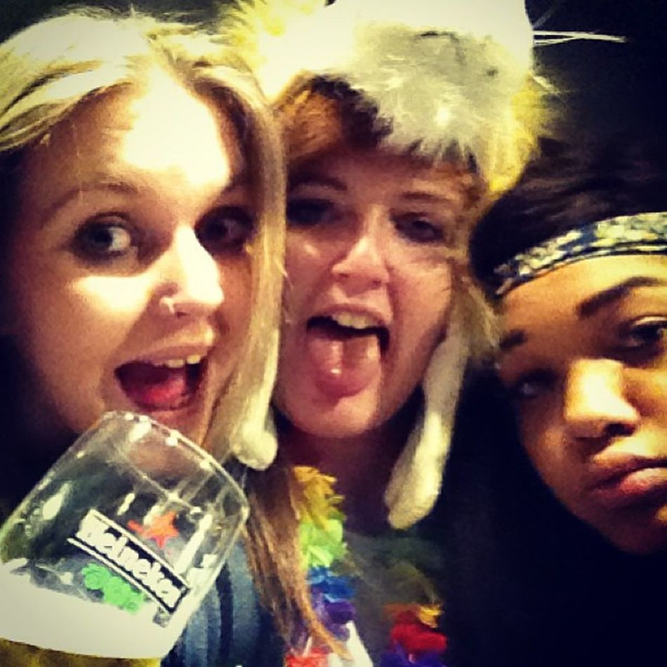 Yass. Edinburgh Steamin Drunk Festival best friends drunk lol