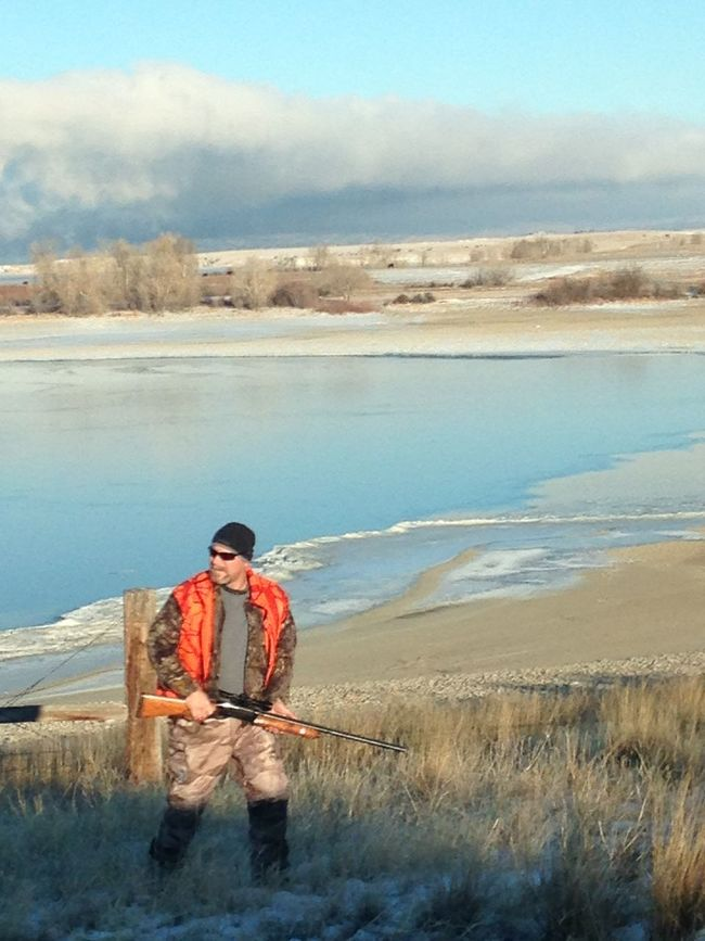 Showcase: December After a morning hunt ......Montana