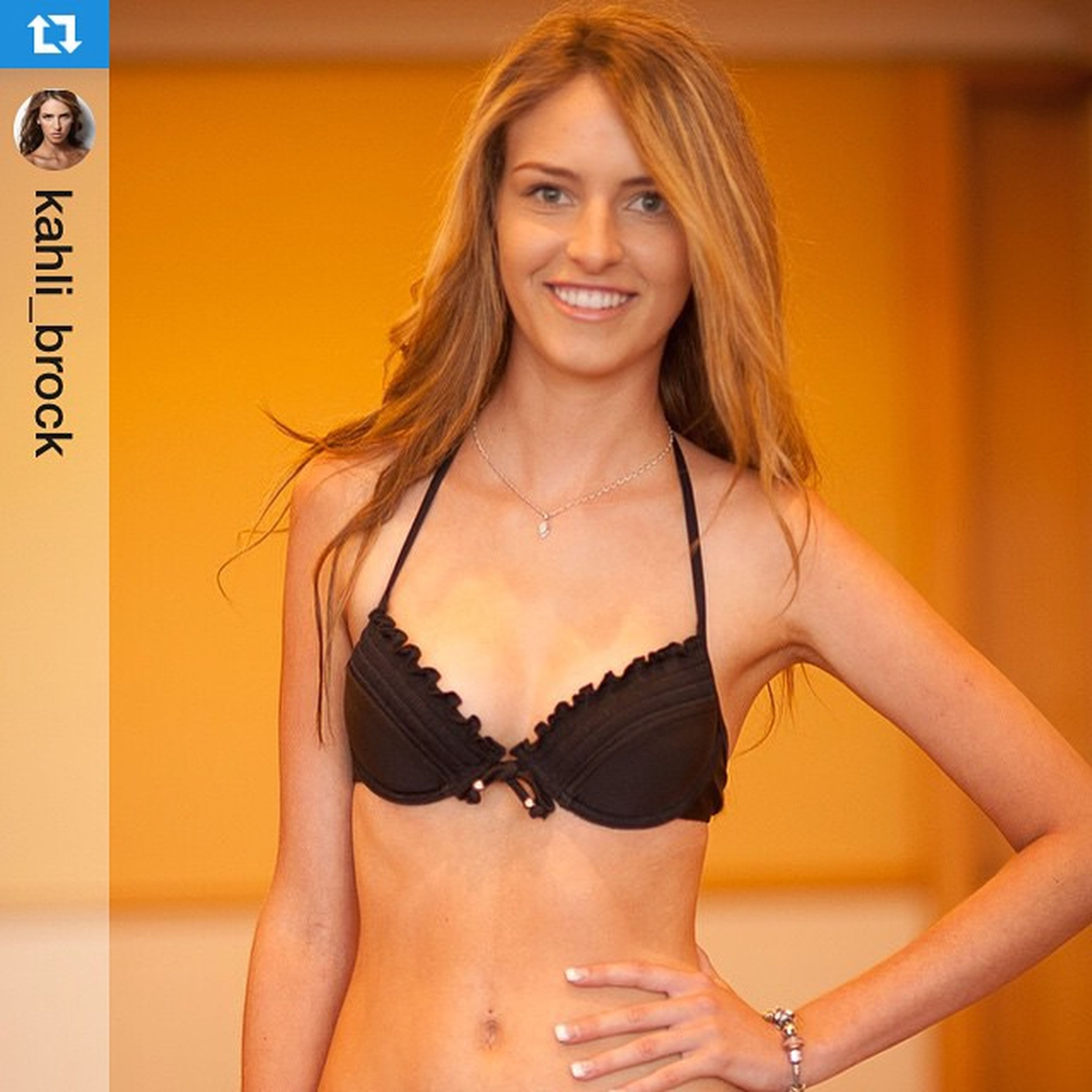 Flashbackfriday repost from @kahli_brock first time met during casting for @goldcoastswimfashionfestival .・・・FLASHBACK : My first modelling competition. Sunseeker Casting Madeit Top20 Woohoo Flashback Model Kahlibrock