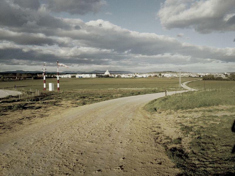City Landscape Fields Path Miguelturra