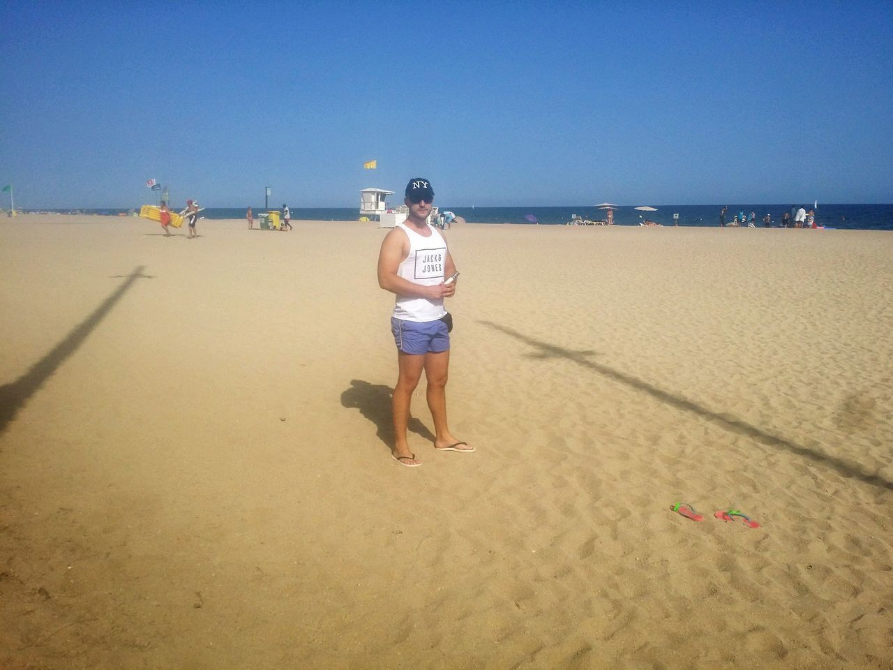Beach Sand Summer One Person