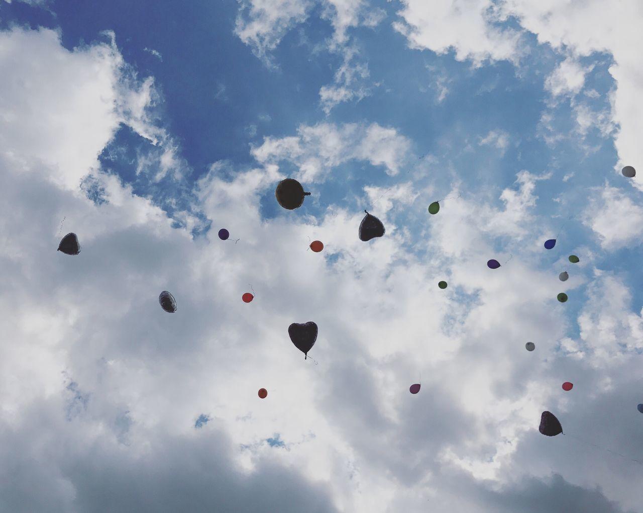 Sky Balloons Heart Party Wedding Wedding Photography Celebration Berlin