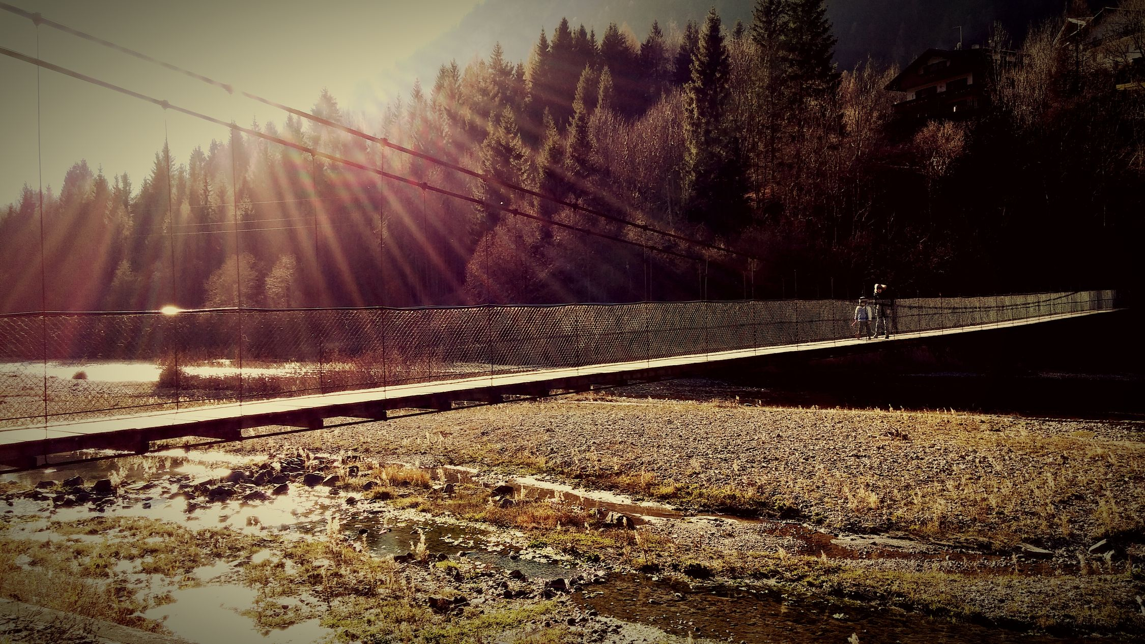 Showcase: December Cold Days Autumn River Bridge Check This Out Hello World Taking Photos Walking Around Kids Sunny Enjoying Life Relaxing Original Experiences 43 Golden Moments People And Places