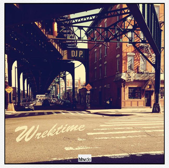 DJ P - Wrektime Mixtape out soon! Mixtape Cover VinylOnly Boombap HipHop Underground Hip Hop Rap Hhvde