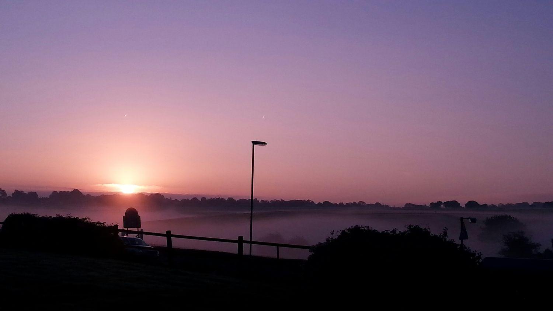 Sunrise Dawn Epsom Downs