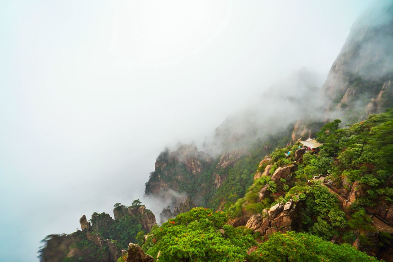 Beautiful stock photos of china, Beauty In Nature, China, Cliff, Copy Space