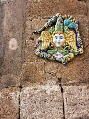 Taking Photos Art, Drawing, Creativity Hello World Ceramics Ceramic Showcase: January Sicily Ceramic Art Caltagirone EyeEm Best Shots Town Wall Trinacria Watching Detail Details Entroterra Siciliano