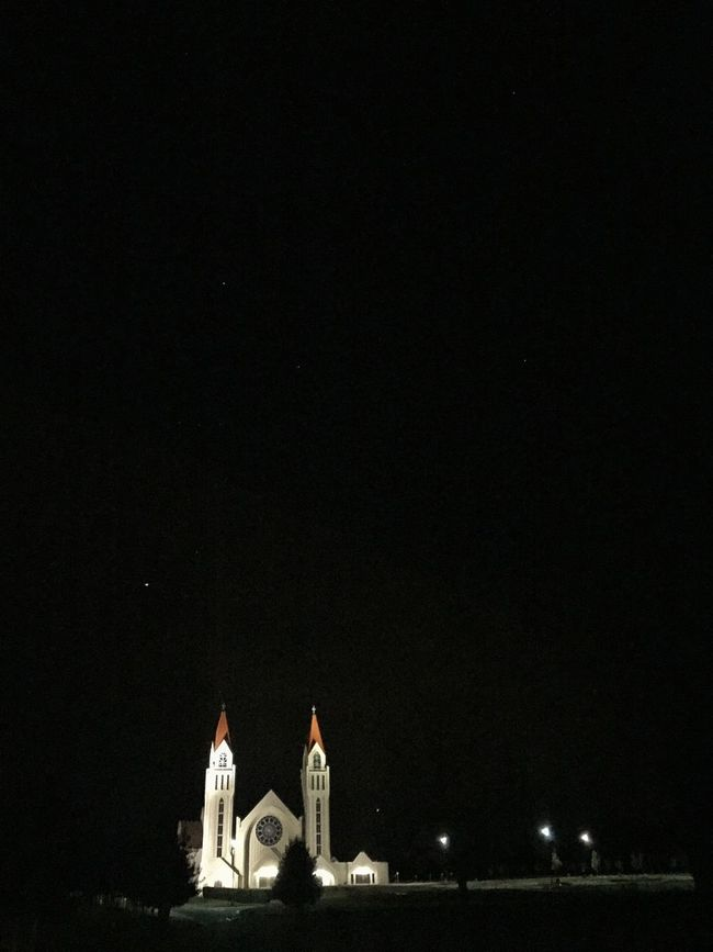 Showcase March Croatian Church Brampton Church At Night  In The Still Of The Night Stillness All Around Pitch Dark