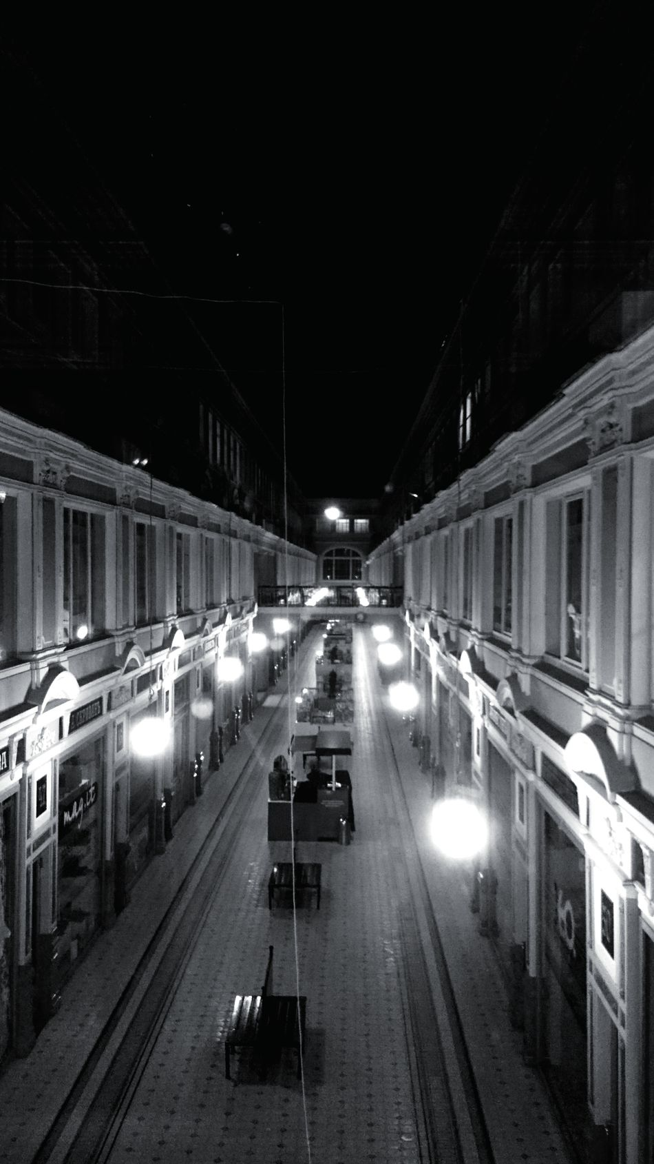 Architecture City Beautiful Photography Point Of View Old Buildings No People Night Blackandwhite History Tranquility