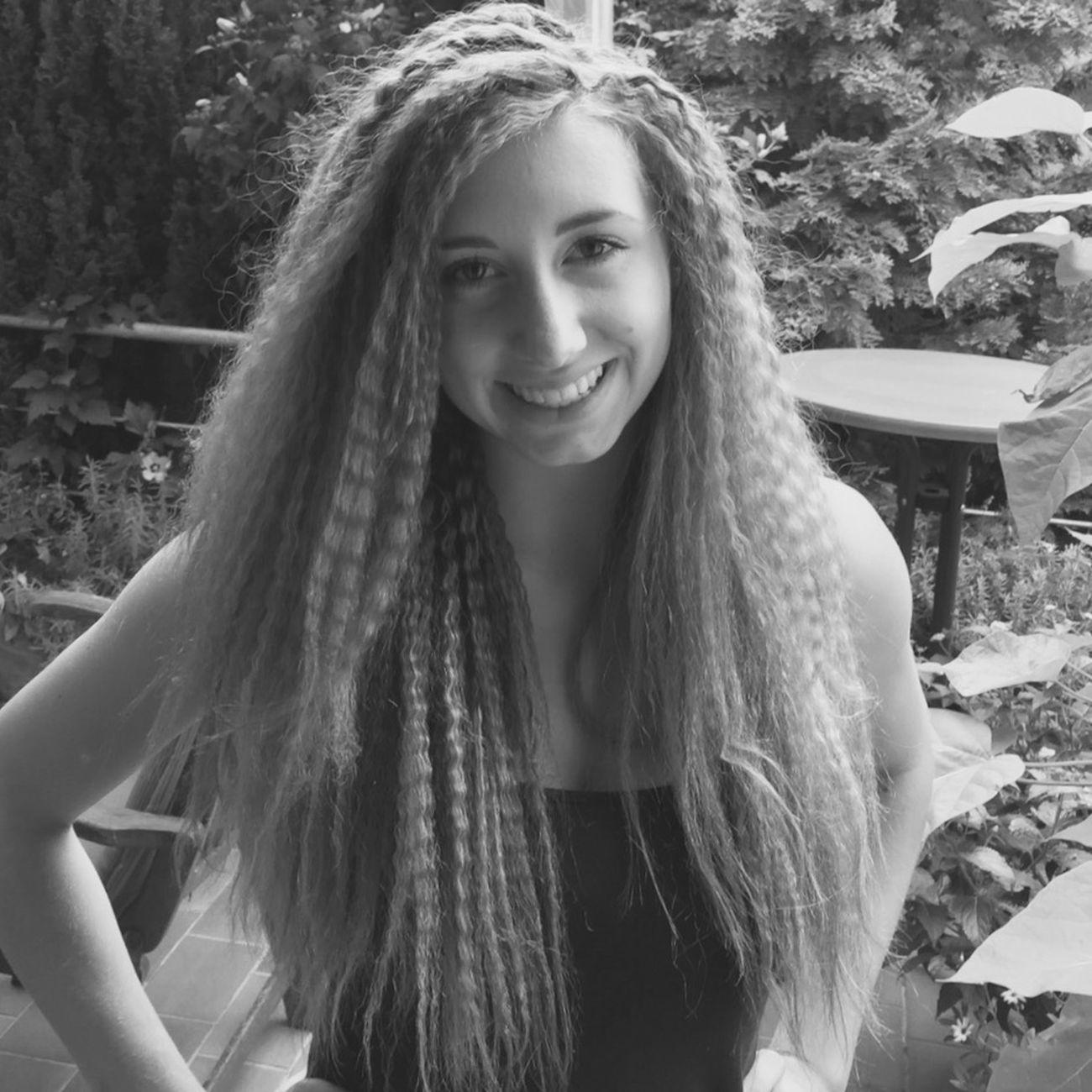 Haaaaaare Self Portrait Selfies Selfie ✌ Selfportrait Selfie Girl Blackandwhite Black And White Smile Hair