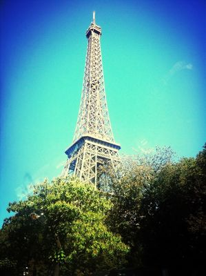 Tour Eiffel at Paris France by Gerti Gligor