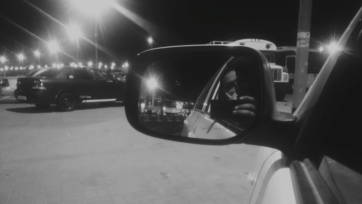 B&w Street Photography Street Streetphotography Street Photography That's Me Me My Mirror From My Point Of View From My Car Bnw