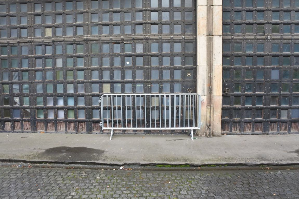 Architecture Berlin Building Exterior Built Structure Day No Entry No Entry Sign No People Outdoors Security Bar