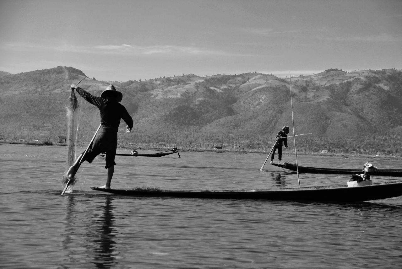 Beautiful stock photos of fishing, Beauty In Nature, Day, Famous Place, Fisherman