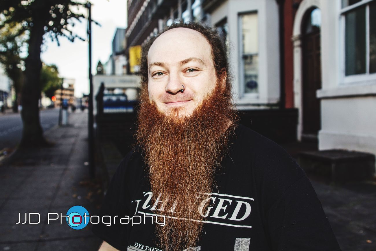 Strangers Stranger Project Wolverhampton Real People Beard Street City Street Adult Lifestyles Meeting New People Happiness Headshot