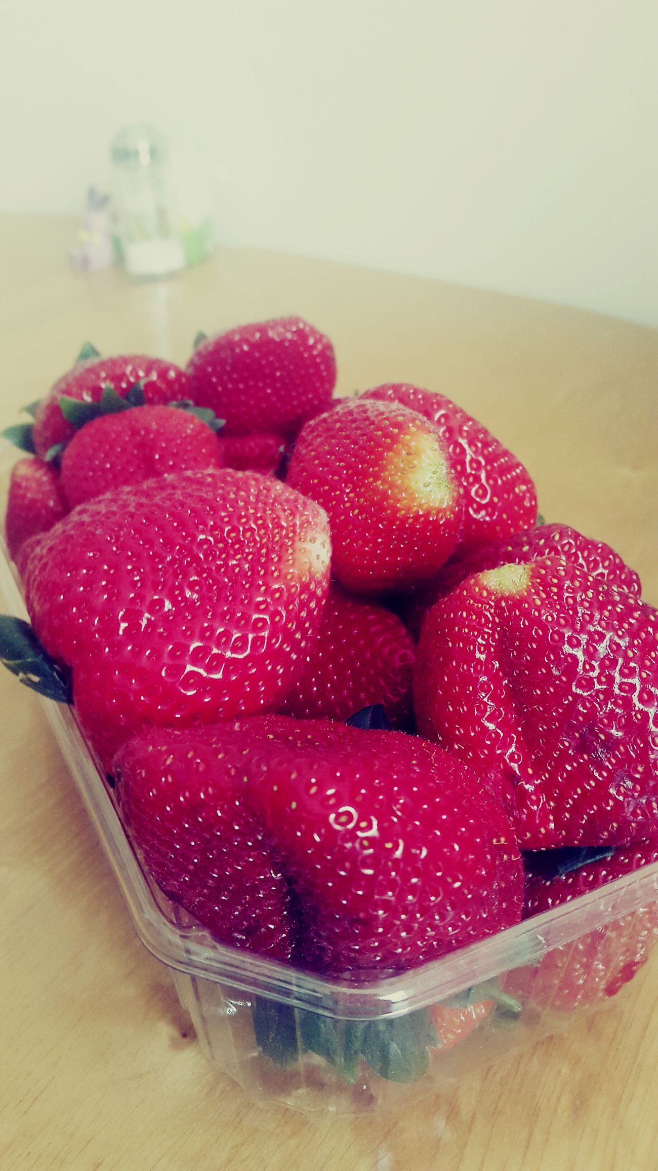 Summer feeling. Strawberries are the best! Strawberry Red Berries Summer Feeling Loveit Tasty
