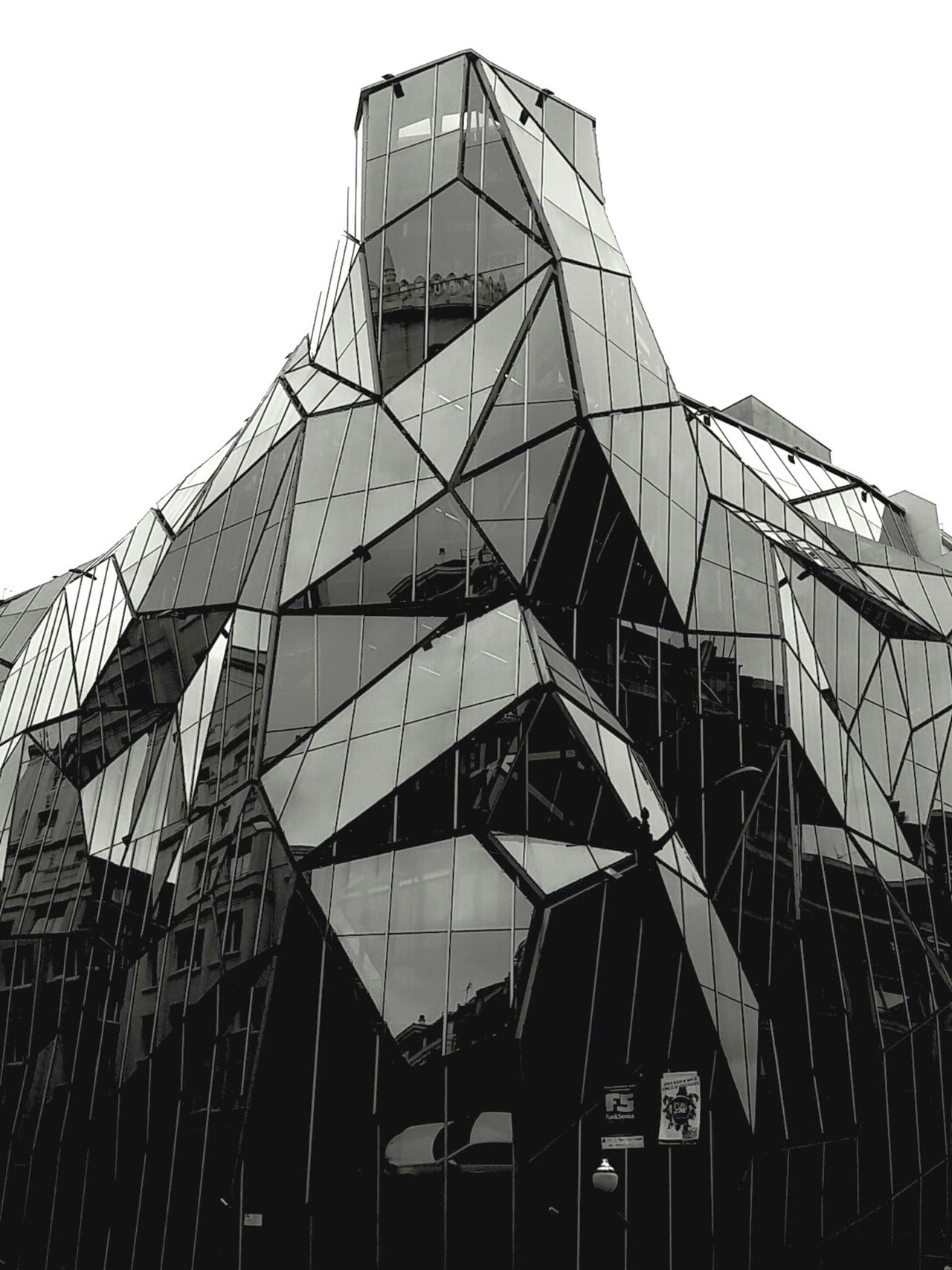 Built Structure Architecture Business Finance And Industry Sky Outdoors No People Building Exterior Day Bilbao Bilbaolovers Bilbaoarquitecture Crystal Reflections The City Light