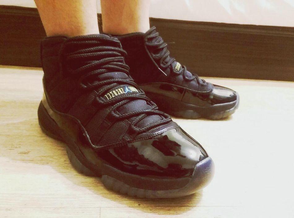 為了一雙球鞋你可以去到幾盡。 AJ11 Aj11gammablue Sneakers Sneakerhead  TodayisMYday