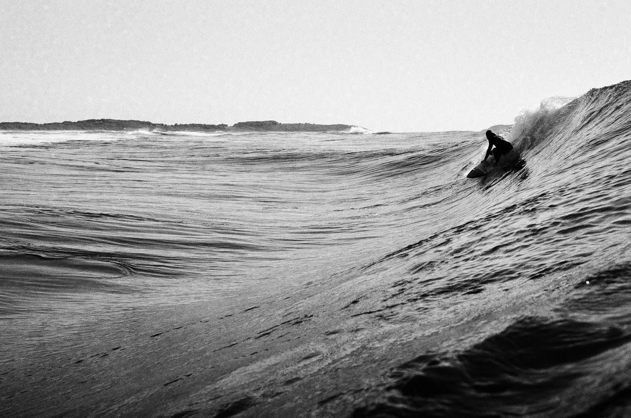 South Coast Southcoast Nsw Water Sea Australia Surf Surfing Nikonosv Ilford HP5 Plus Blackandwhite Film