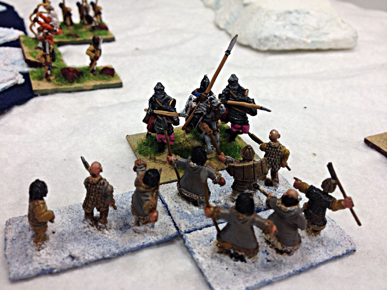 Arabs vs Wildlings - Game Of Thrones Wargames Hordes Of The Things Miniatures