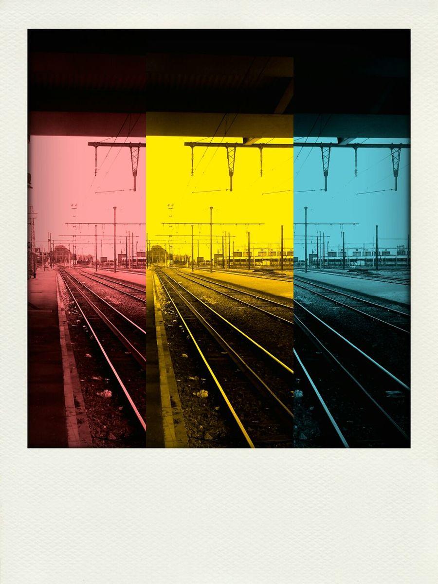 RER C Massy-palaiseau Polaroid