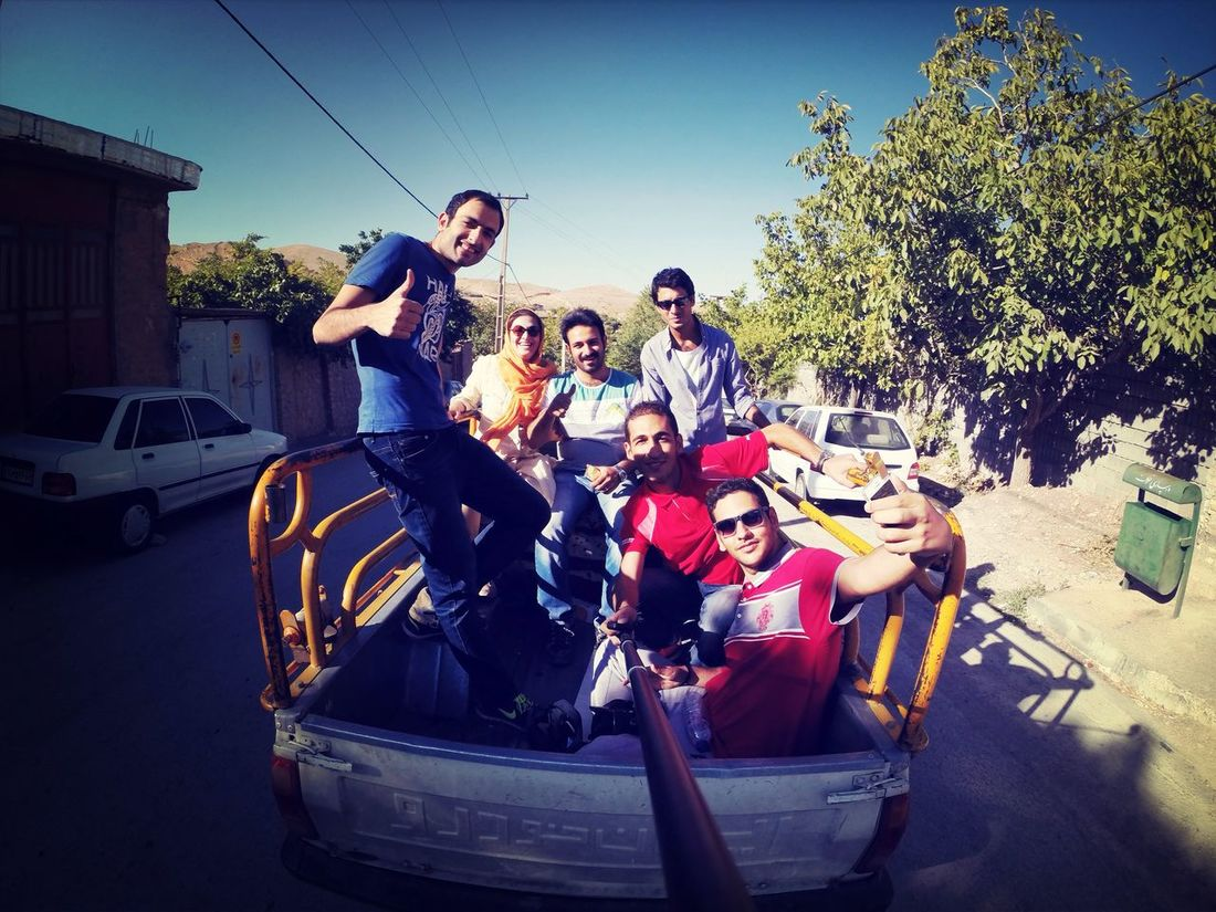 Traveling In Shiraz with Friends Happy Time Gopro