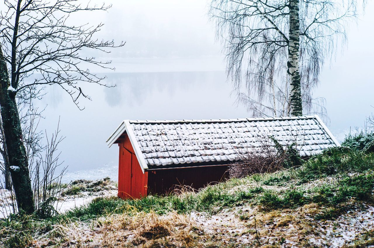 Beautiful stock photos of norway, Architecture, Bare Tree, Beauty In Nature, Building Exterior