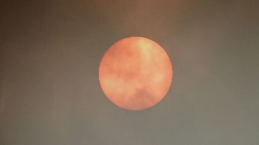 Not perfect ...but i managed to get a larger shot of the sun today...