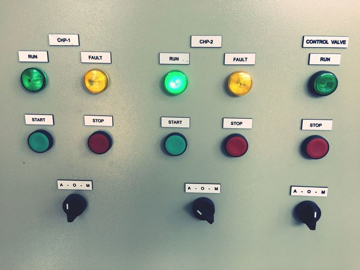 Control Control Panel Push Button Technology Factory No People Keypad Indoors  Start Stop Push Botton Mechanic Machine Control Board