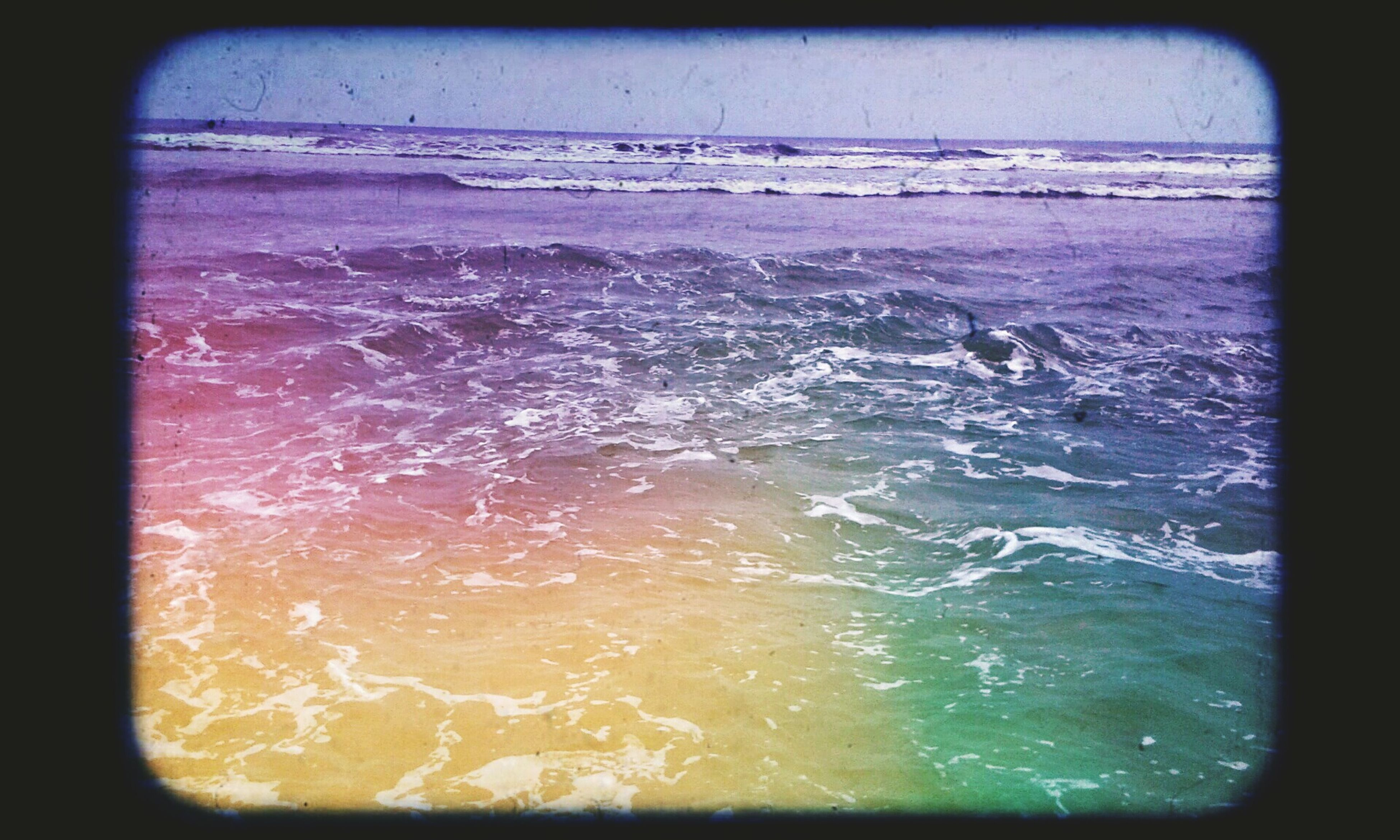 water, sea, transfer print, splashing, wave, transparent, motion, window, auto post production filter, nature, wet, waterfront, surf, close-up, drop, rippled, beauty in nature, day, horizon over water, glass - material