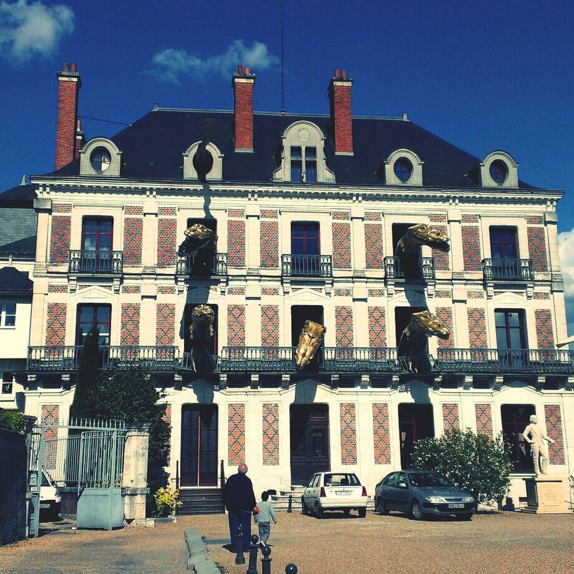 The house where Hodini was born