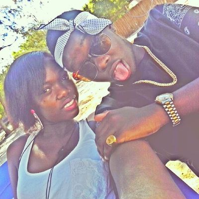 Mi and my partner in crime doin what we do Chillin enjoying the good sunny weather TEAMbigstunna TeambigFooLish