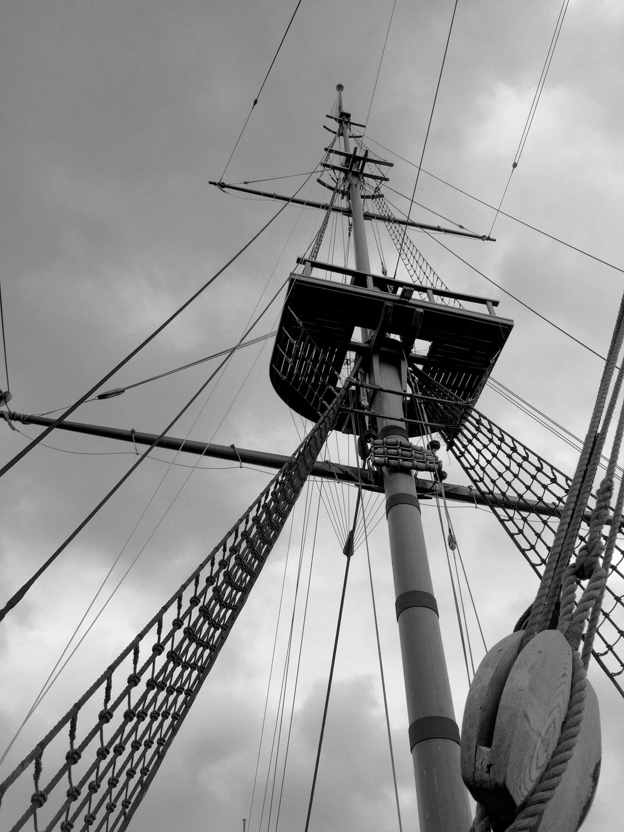 Mast Blackandwhite Black And White Ship Boat Sailing Sail Sail Away, Sail Away Check This Out Pirate Ship Pirate Water Wind Monochrome Monochrome Photography Welcome To Black History Historical Place Ships Shipping  Nautical Nautical Vessel Sailboat Sailing Ship Sailing Boat