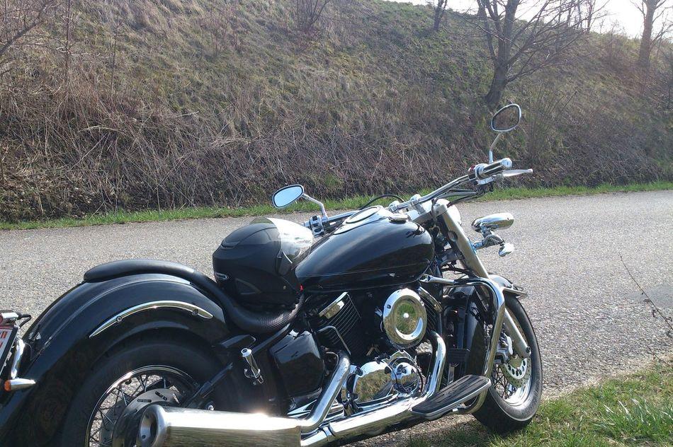 März2015 Motorcycles Motorrad Motorrad Fahren Yamaha Drag Star Trip Cruiser Unterwegs Ausflug