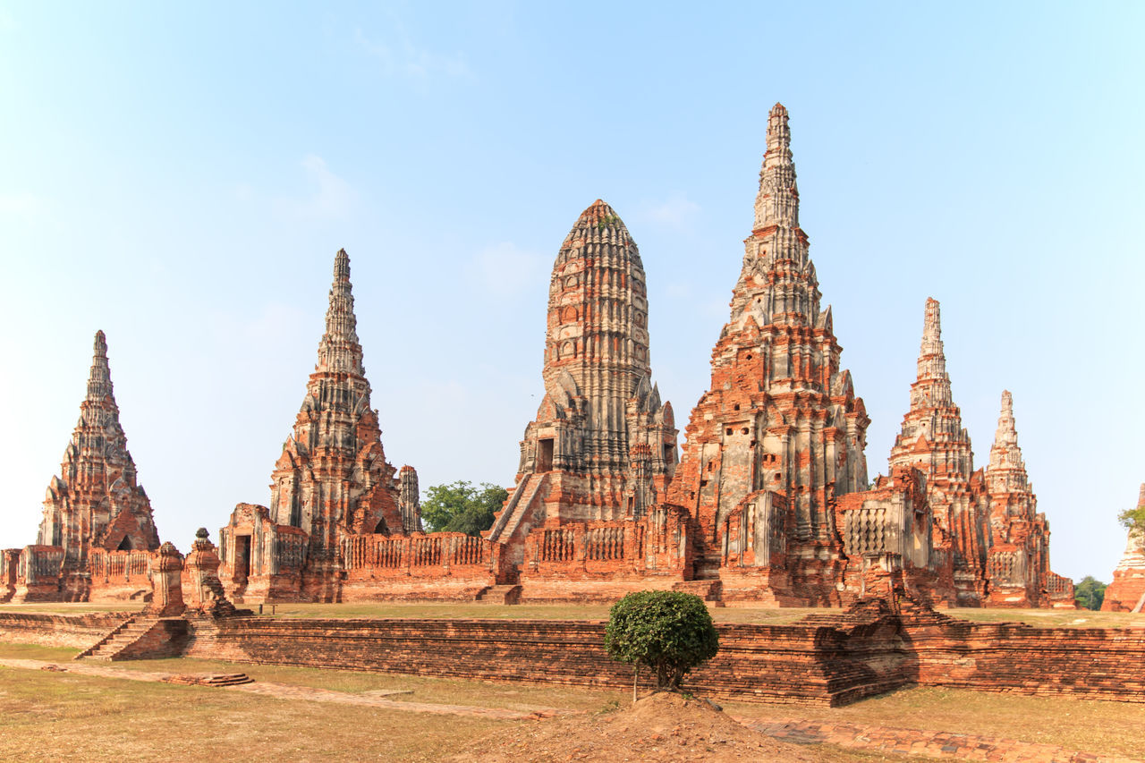 Temple Phra Nakhon in Ayutthaya, Thailand Ancient Architecture ASIA Ayutthaya Cultures Day Elephant History Horizontal Market No People Old Ruin Outdoors Phra Nakhon In Ayutthaya Place Of Worship Religion Siamese Sky Spirituality Temple Thailand Travel Destinations Vacations Wat Yai Chai Mongkol